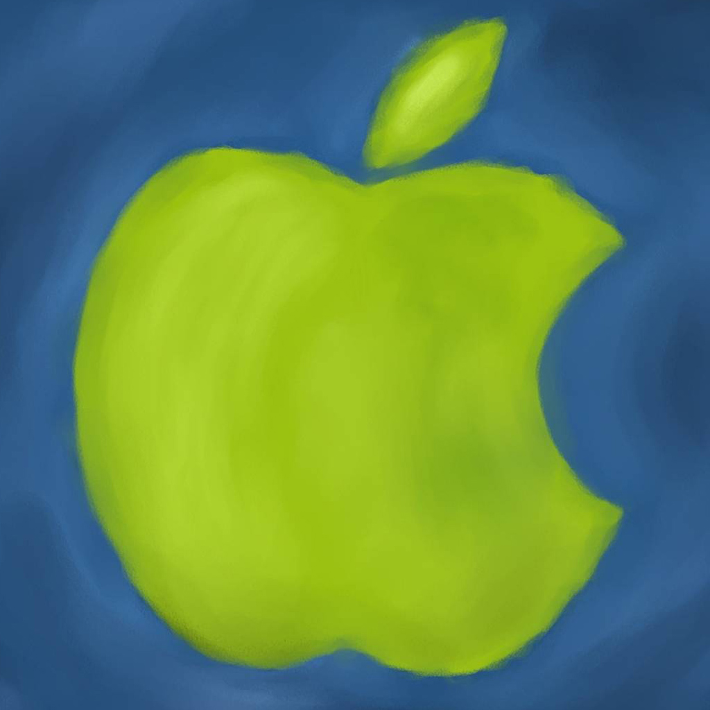 Apple Logo Paint