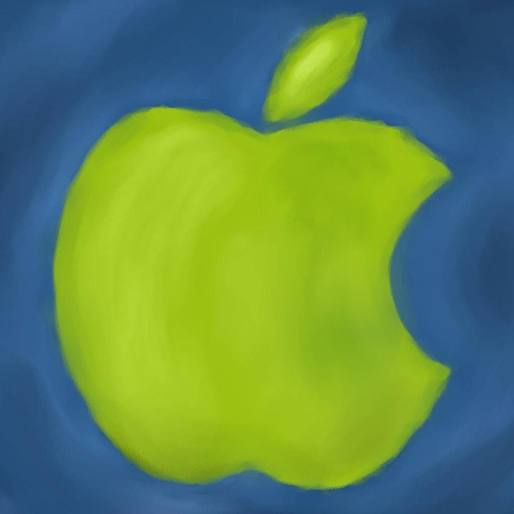 Apple Logo Paint