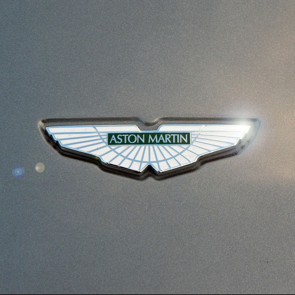 All Car Brands >> Aston Martin Logo iPad Wallpaper, Background and Theme
