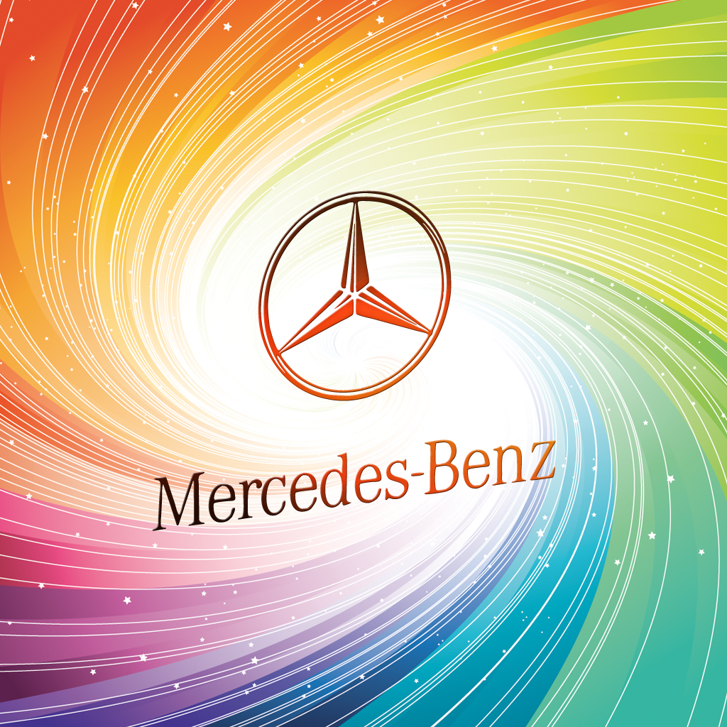 Mercedes benz logo ipad wallpaper background and theme mercedes benz logo voltagebd Image collections