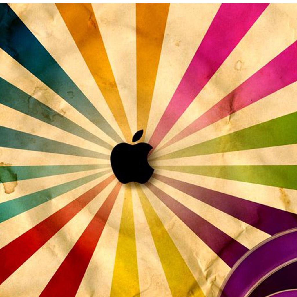 Apple Logo Rays