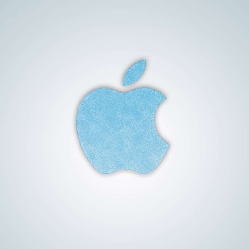 Apple Logo Frozen