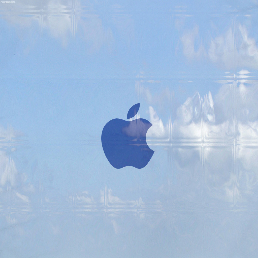 Apple Logo Plastic