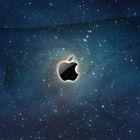 Apple Logo Galaxy
