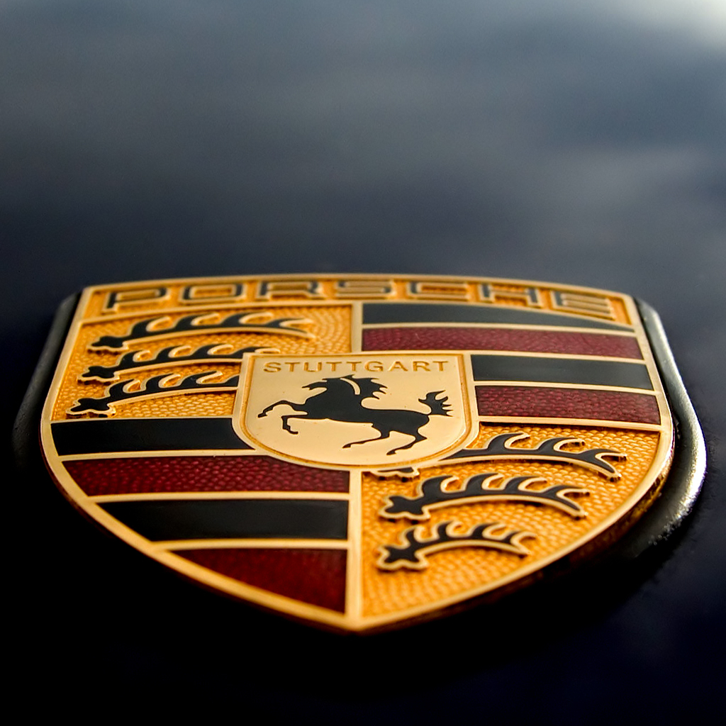 Porsche Logo IPad Wallpaper Background And Theme