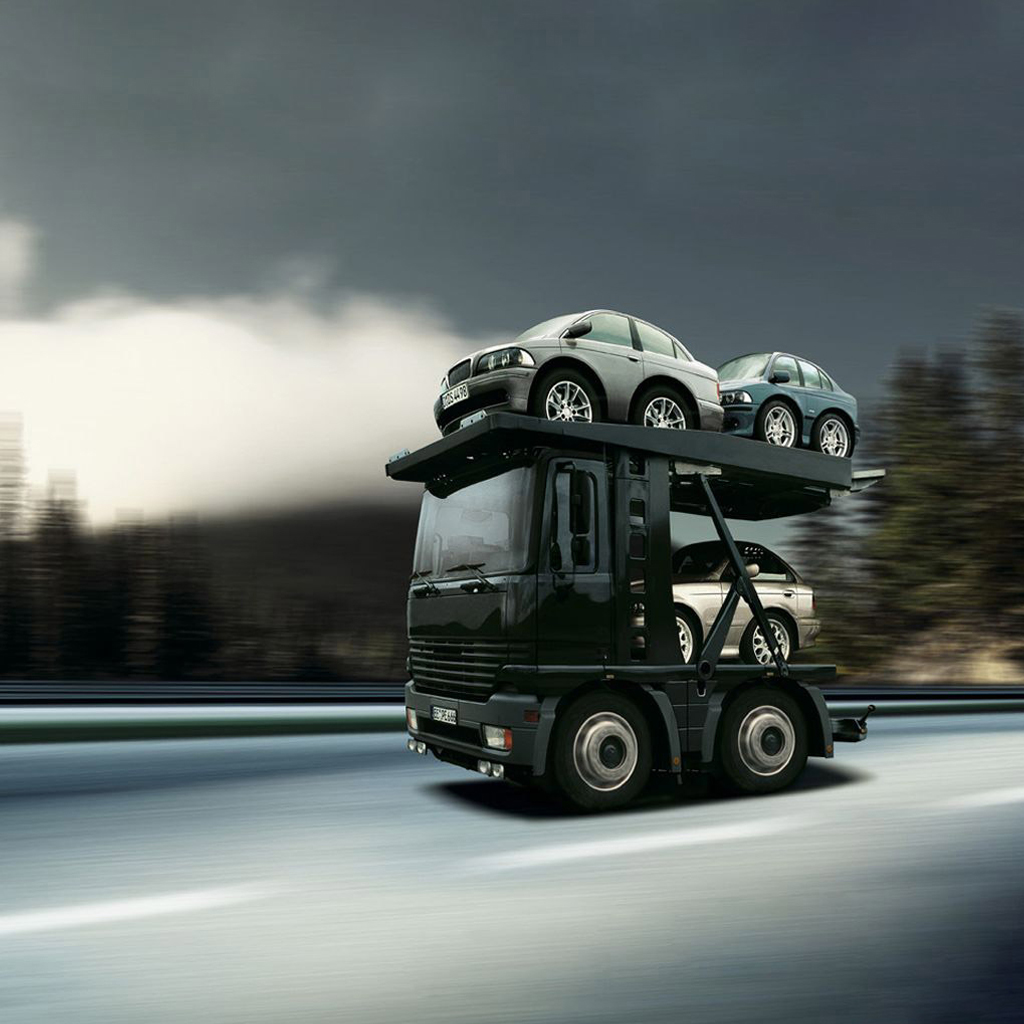 Mini Truck IPad Wallpaper, Background And Theme